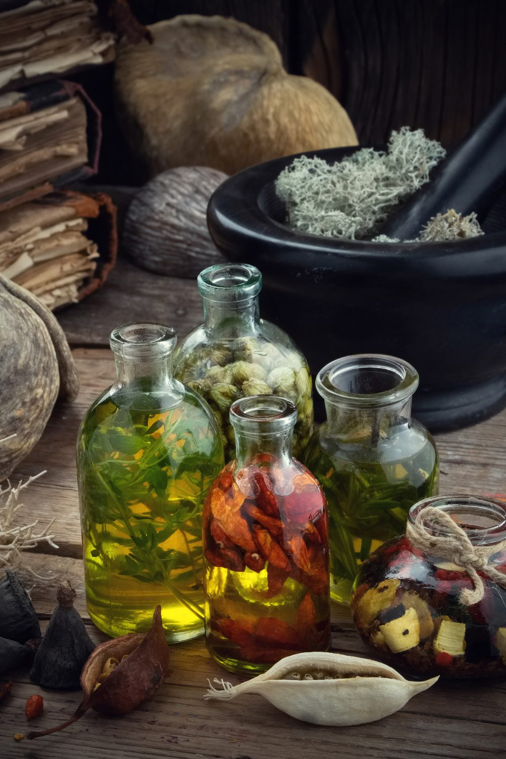 Homemade Herbal Massage Oils for Pain and Stiffness